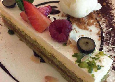 Dessert fait maison L'Étrille Sainte Marie