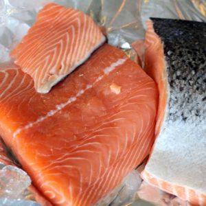 Filet de saumon Poissonnerie en ligne L'Étrille