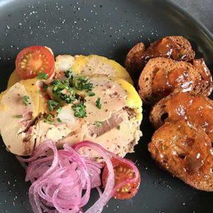 Foie gras mi-cuit traiteur en ligne L'éTRILLE