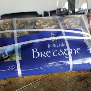 Huîtres de Bretagne poissonnerie en ligne l'éTRILLE