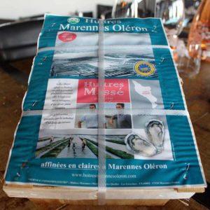 Huîtres Marennes Oleron en ligne
