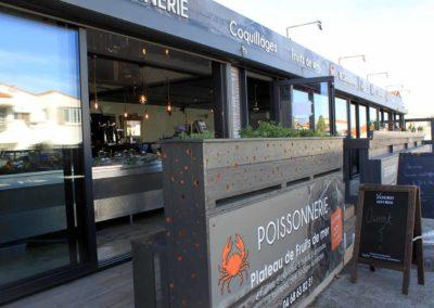 Restaurant poissonnerie L'Étrille près de Perpignan - Devanture