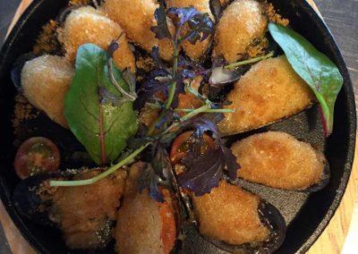 Moules gratinées à l'aïoli L'Étrille traiteur en ligne - Traiteur de la mer