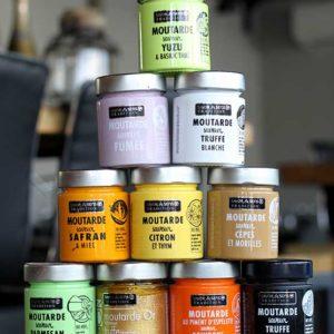 Les moutardes Color Block de chez Savor & Sens
