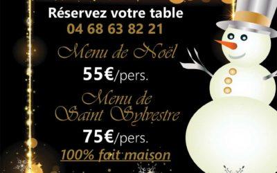 Vous cherchez un restaurant pour les fêtes à Perpignan ?