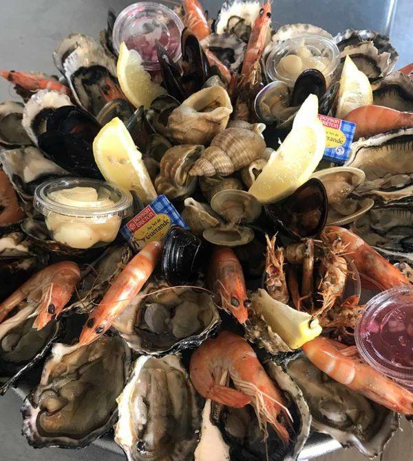 Plateau de fruits de mer en ligne L'Ancrage