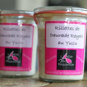 Rillettes de daurade royale