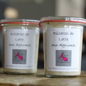 Rillettes de lotte
