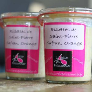 Rillettes de Saint-Pierre safran orange