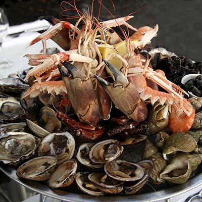 Plateau de fruits de mer en ligne L'éTRILLE