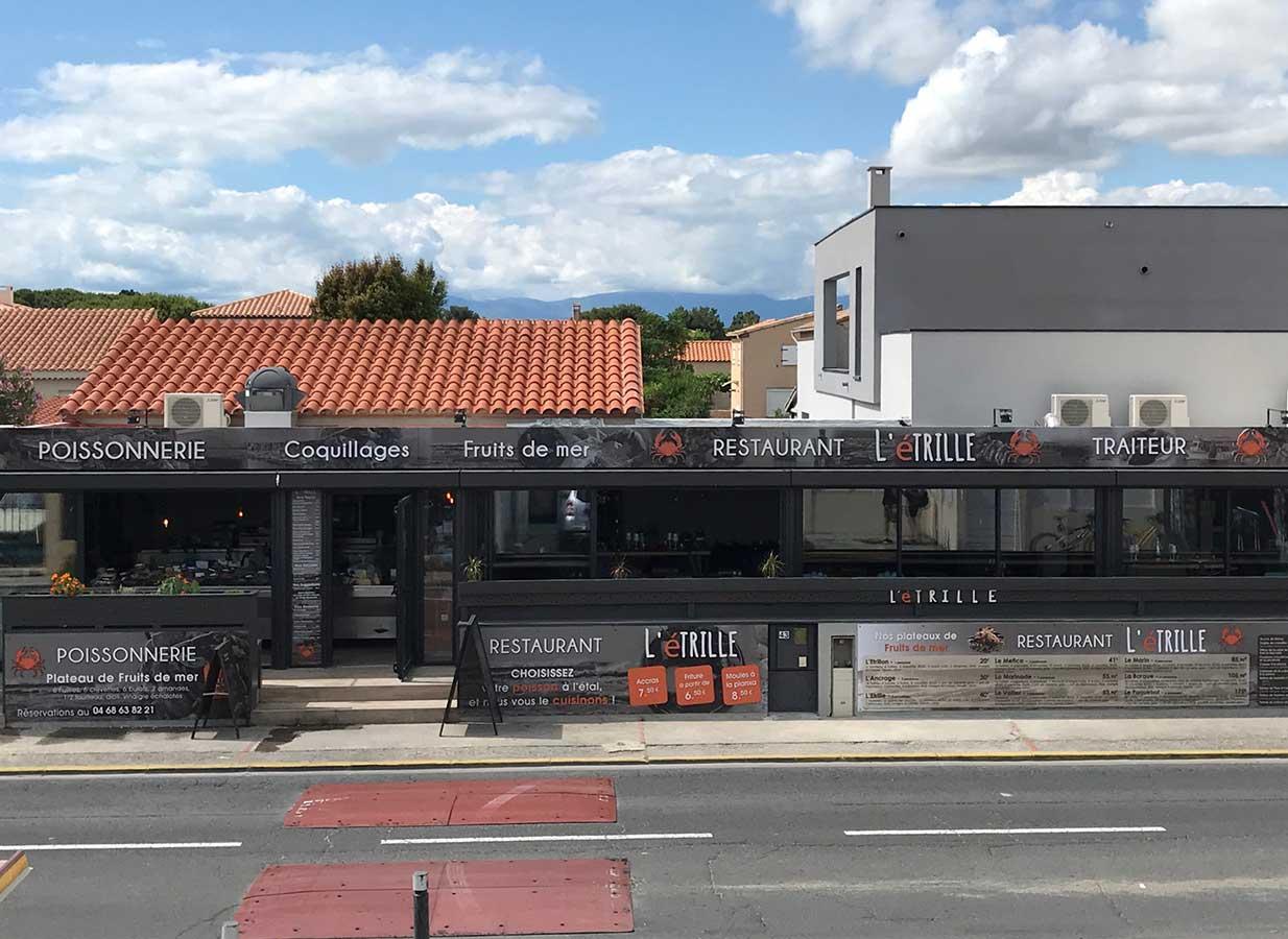 Restaurant poisson sainte marie la Mer 66 L'éTRILLE